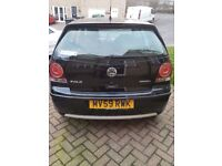 POLO BLUEMOTION!!! 59 PLATE!!! FREE TAX!!! NEW CAMBELT/BRAKES/TYRES AND MOT UNTIL OCT 2018