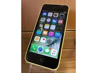 iPhone 5c Yellow Unlocked