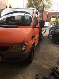 Mercedes sprinter recovery truck for sale