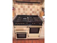Leisure c100 duel fuel range cooker