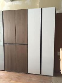 4 hinged doors wardrobe