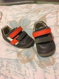 Boys clarks shoes 4G