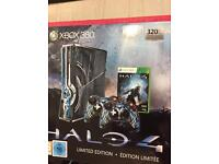 Limited edition halo 4 Xbox 360 , 11 games , Kinect