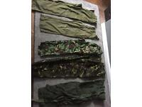 Men's army combat trousers