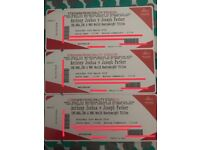 3 X Tickets For Anthony Joshua Vs Joseph Parker