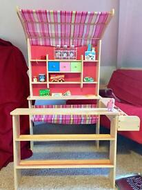 Play market stall -Sold