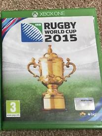 Rugby 2015 Xbox one game £5