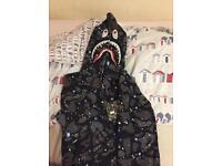Bale bathing ape hoodie supreme
