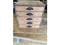 Vintage Wooden Draws
