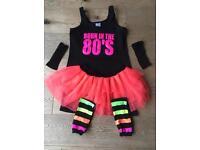 80's fancy dress costume