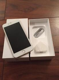 Apple iPhone 6 Plus - 64GB - Silver - Unlocked - Good Condition