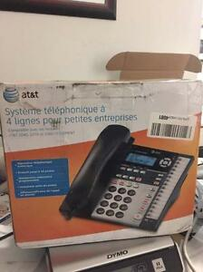 at&t 4-Line Small Business System Phone