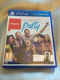 Sing star PS4 still sealed by GAME