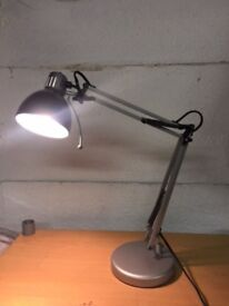 desk lamp with long convenient swing arm and bulb