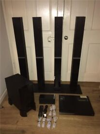 Pioneer DCS-580 DVD/CD Home Cinema System 5.1 - VGC - FULLY WORKING