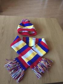 Build a bear workshop hat and scarf set