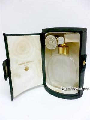 Marcel Rochas BACCARAT Perfume Bottle & Marcel Franck Atomiser & Purse c1940s