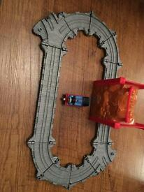 Thomas the tank engine train and track