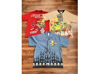 Boys BHS Bart Simpson T-Shirt bundle, ages 13-14 years (x3)