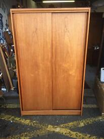 Attractive Vintage Retro Austinsuite Sliding Door Wardrobe