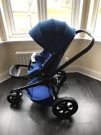 Quinny Moodd Blue Buggy Pushchair Pram - Excellent Condition
