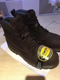 Buckler work boots