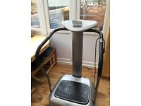 Carl Lewis fitness vibro machine.