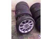 """Bmw Mv2 18"""" Alloy Wheels Can Sell Single Can Post Part Ex Welcome"""