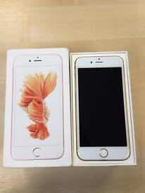 Apple iPhone 6s - 128GB - Gold - Unlocked - Excellent Condition