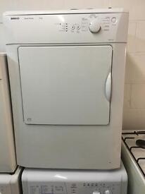 White Beko Vented Tumble Dryer Fully Working Order Just £85 Sittingbourne