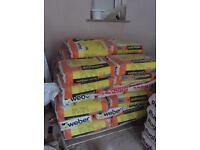 40 bags of monocouche