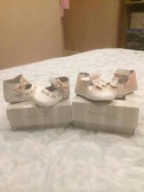 Girls pram shoes