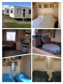 Caravan rental at Cala Gran, Fleetwood for 4 nights from 12-16 March for £120