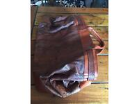 Genuine Ghibli python skin travel bag