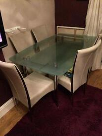 glass boat table