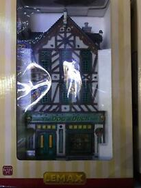 Lemax Christmas Village Dog and Duck Pub BRAND NEW