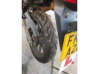 Keeway TX 125 Yamaha WR copy