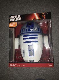 R2-D2 Star Wars 3D Wall Light