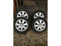 "Ford mondeo zetec alloys 5x108 16"" connect fiesta focus"