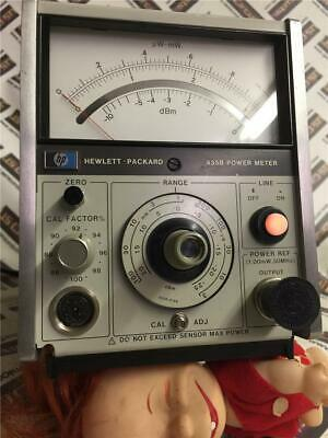 Hp Hewlett Packard 435b Power Meter Analog - Super Clean