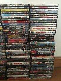 DVDs 15 for £10 mint condition