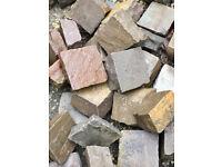 Indian sandstone cobblestones