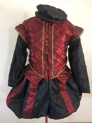 Elizabethan Renaissance Shakespeare Doublet Slops & Hat, auction for Kevin tft01 - Elizabethan Costumes