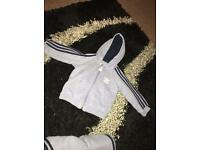 Baby boy adidas tracksuit size 3-6 months