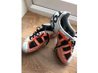 Nike football boots T90's junior size 12 moulds