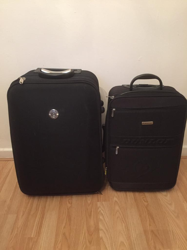 Used two suitcases