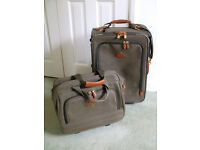 Good quality suitcase and travel bag set