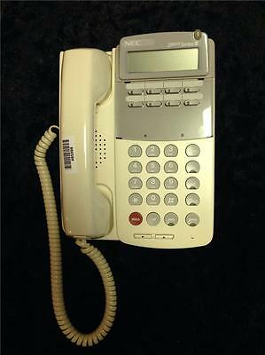 New Nec Dterm Series Ill Etj-8is-1 570005 White 8 Button Phone Speaker Phone