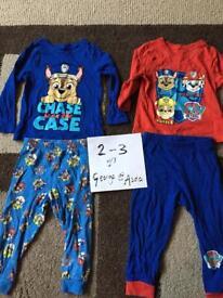 Paw Patrol Pyjamas 2-3