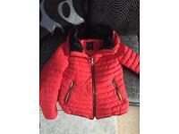 Red Zara jacket - small